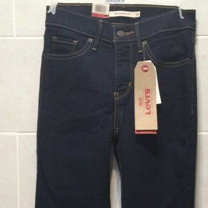 Levi's 312 Shaping Slim Skinny Jeans Dark Blue